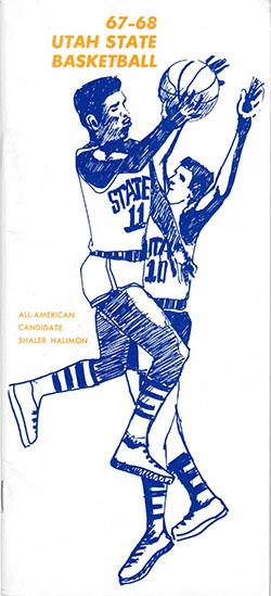 1967-68 Media Guide Cover